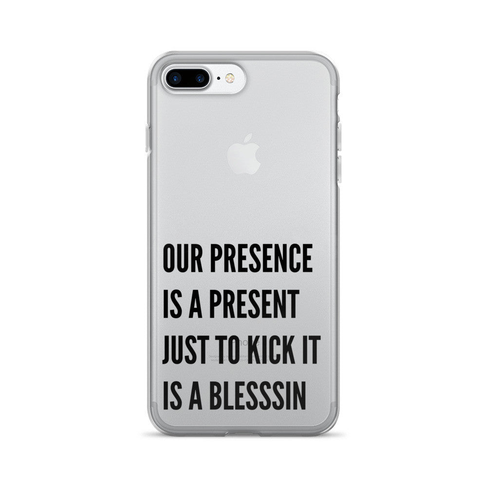 Blesssin Clear iPhone 7 Case