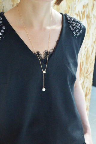 Chic and Elegant - Adjustable Long Necklace