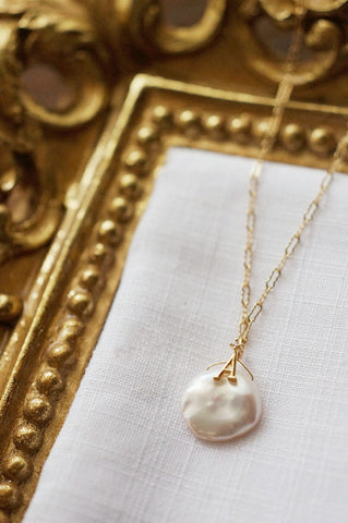 Baroque Style Freshwater Pearl Necklace