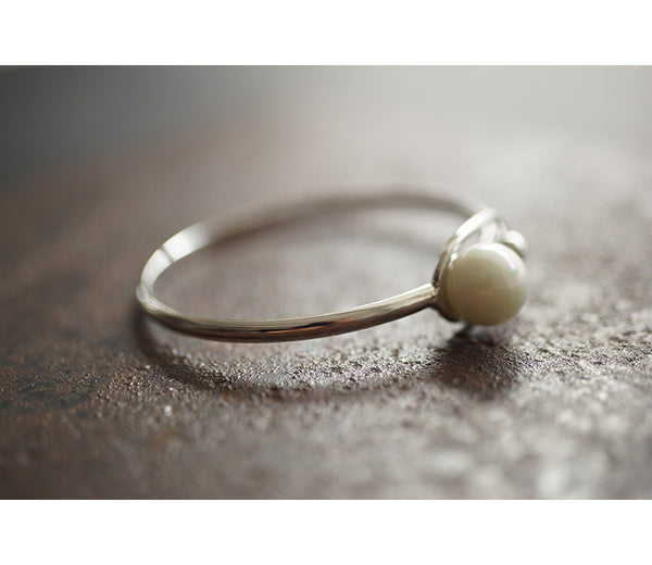 Chic and Modern Ball Bracelet Bangle