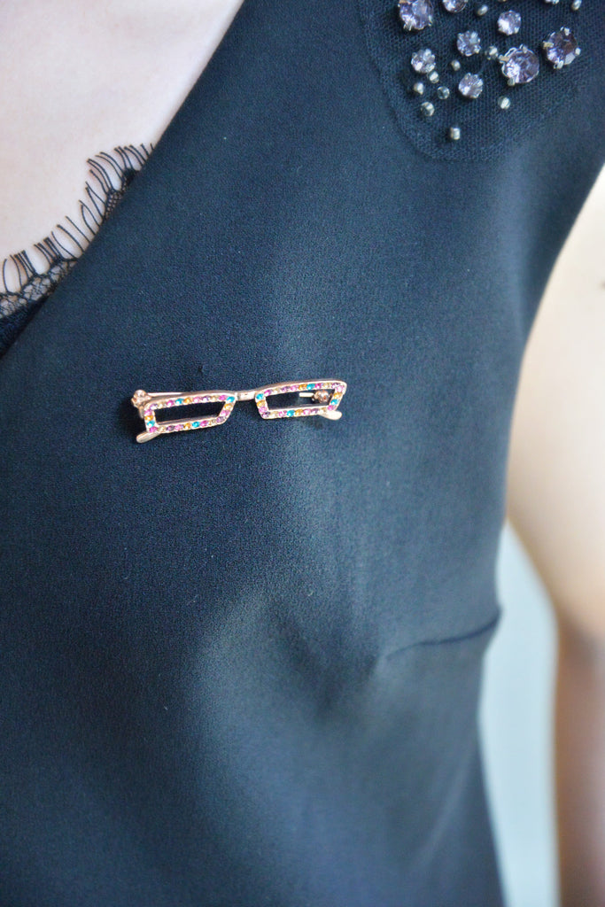My Lovely Glasses Brooch