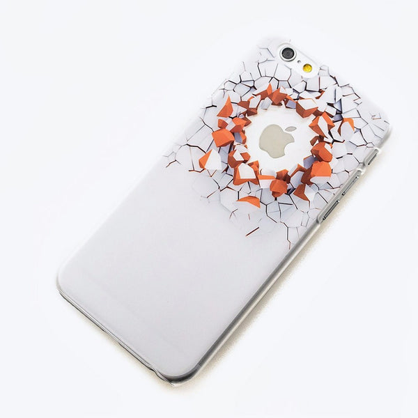 Unique Hatch! Design Hard Shell Case for iPhone 6S/ 6S Plus
