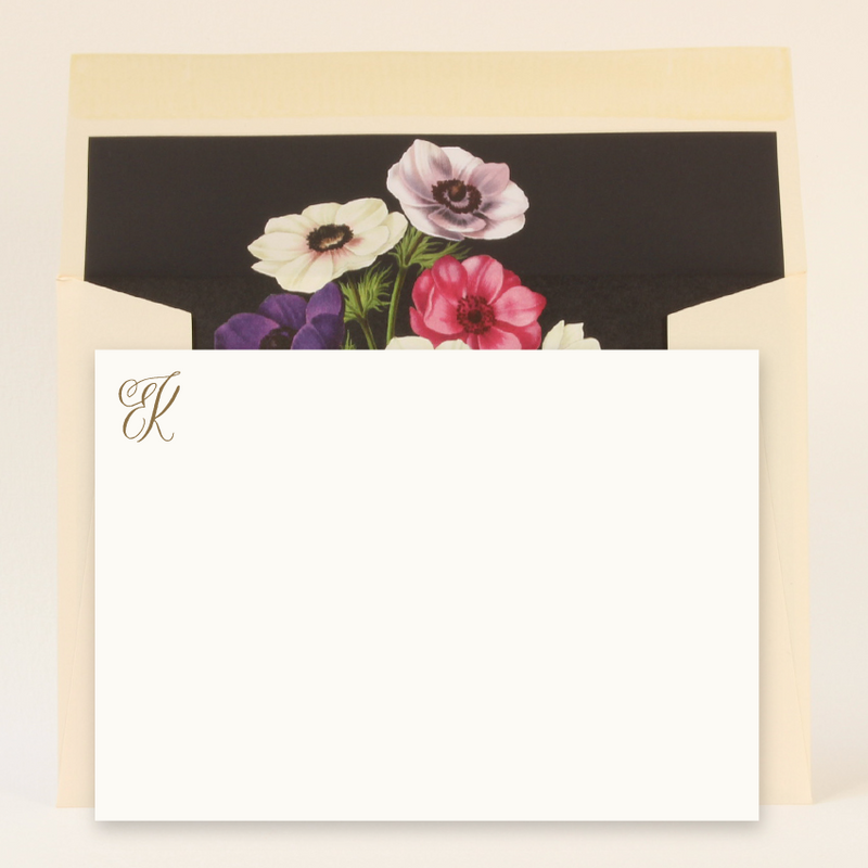 BESPOKE MONOGRAMMED LUXURY CORRESPONDENCE - SET OF 25