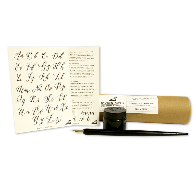 CALLIGRAPHY ESSENTIAL KIT & BOOK BUNDLE