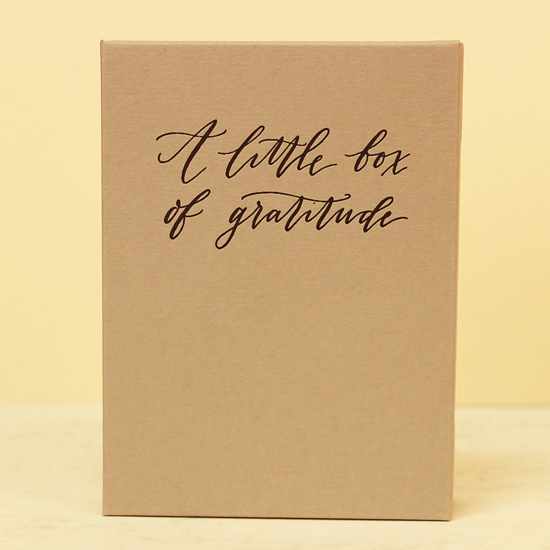 A LITTLE BOX OF GRATITUDE