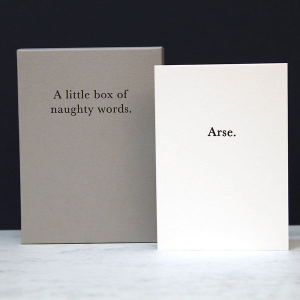 A LITTLE BOX OF NAUGHTY WORDS