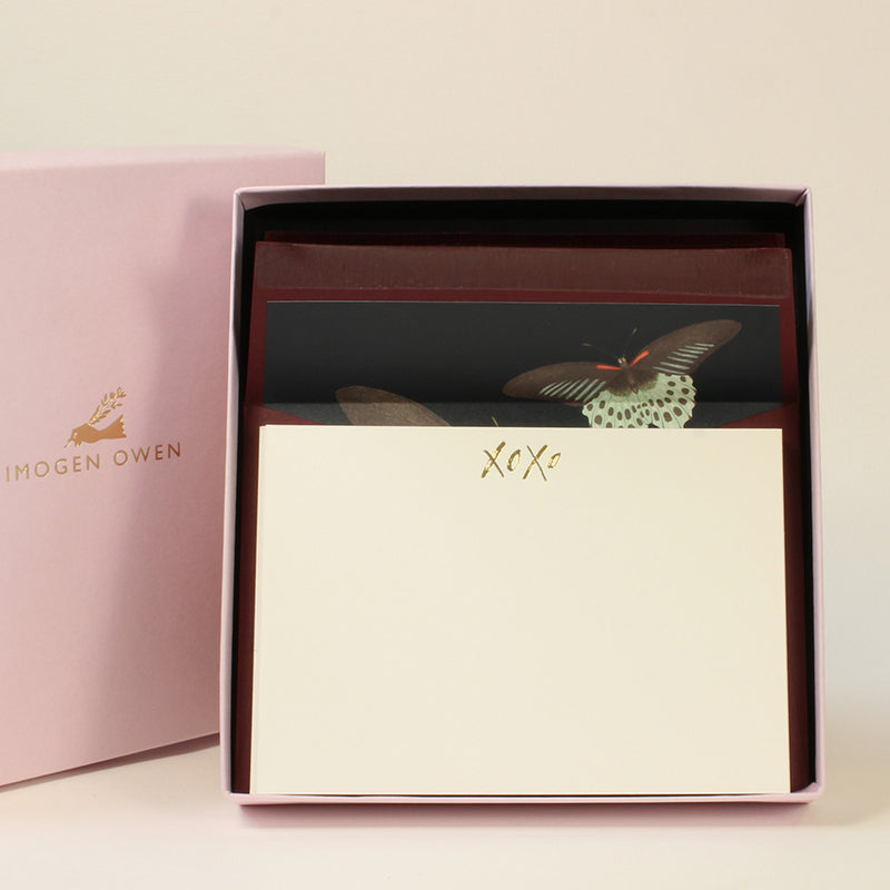LUXURY CORRESPONDENCE SET - BUTTERFLY