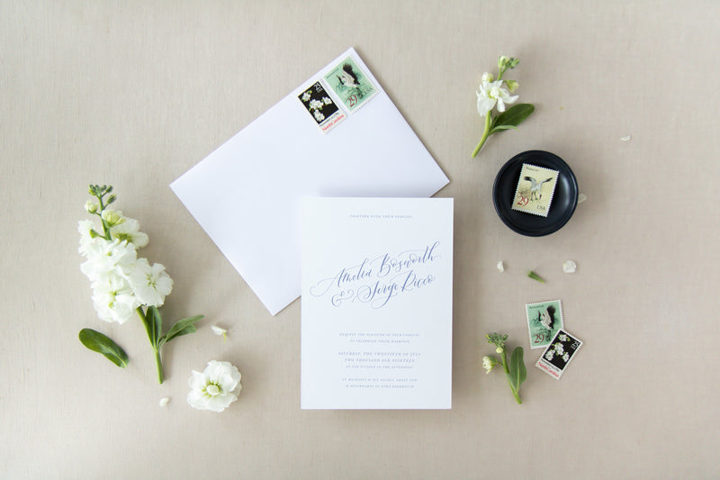 CLASSIC CALLIGRAPHY COLLECTION - SAVE THE DATE