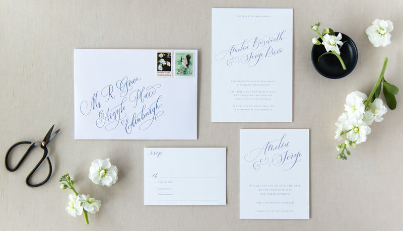 CLASSIC CALLIGRAPHY COLLECTION - INVITATION