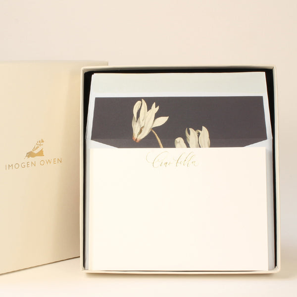 LUXURY CORRESPONDENCE SET - CYCLAMEN