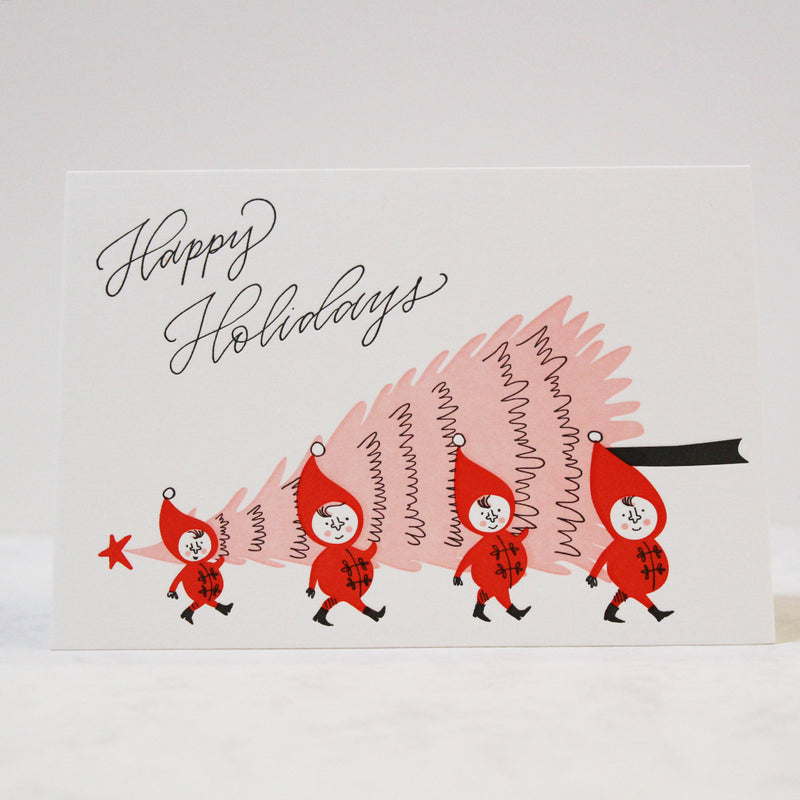BOX SET ELFISH CHRISTMAS CARDS