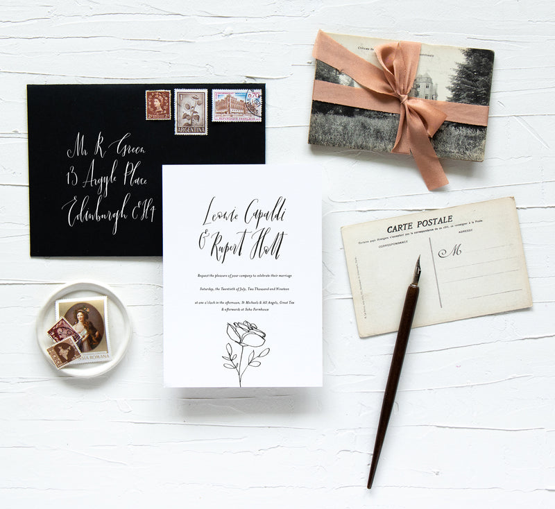 EMMELINE COLLECTION - INVITATION
