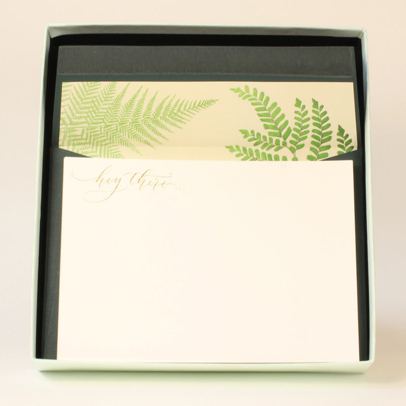 LUXURY CORRESPONDENCE SET - FERN