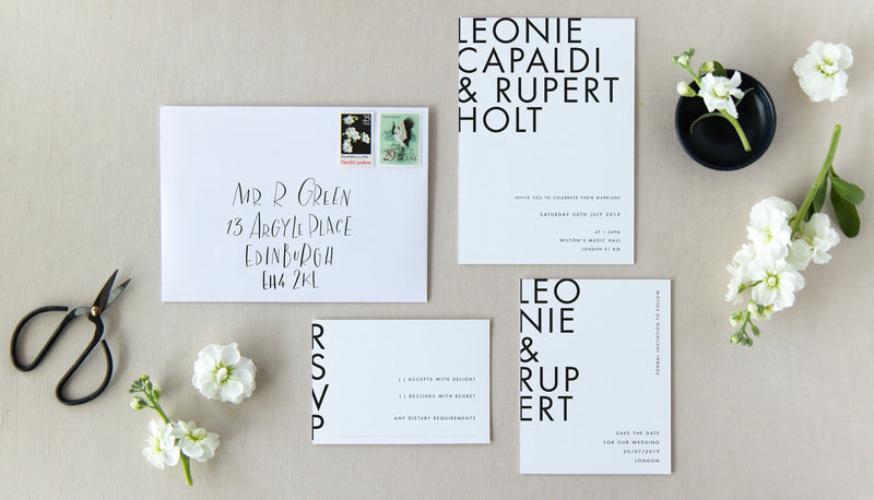MARGOT COLLECTION - INVITATION