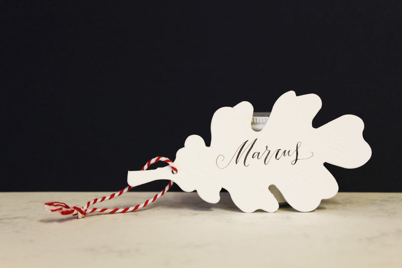 PERSONALISED WOODLAND GIFT TAG