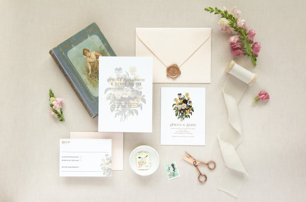 PANSY COLLECTION - INVITATION