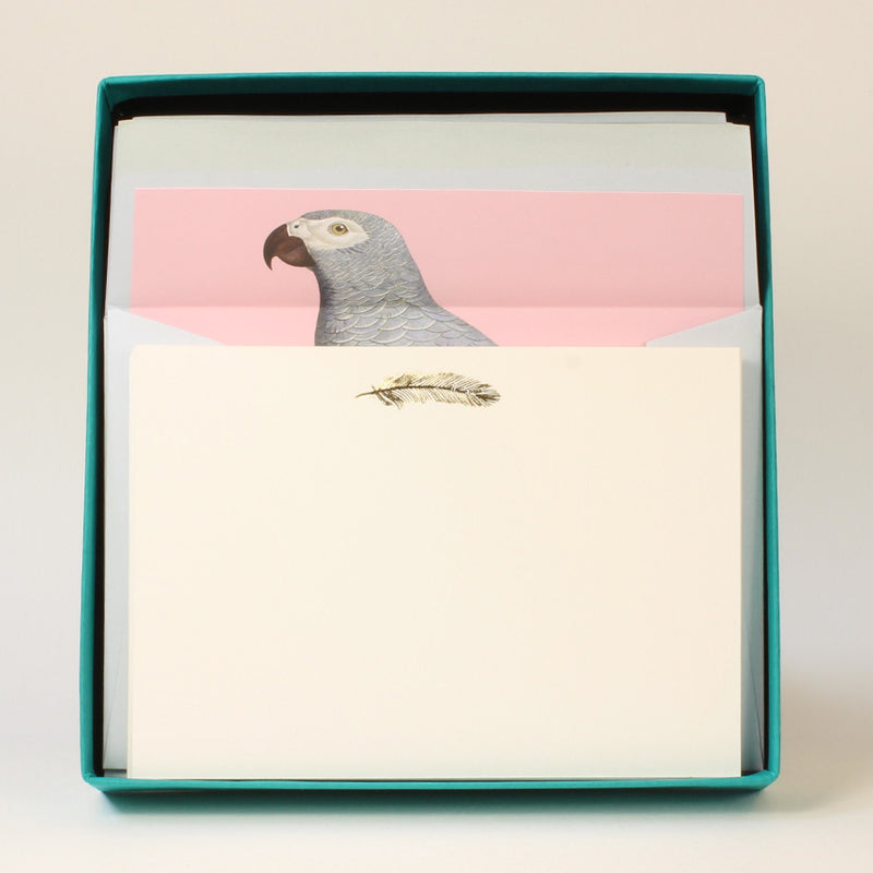 LUXURY CORRESPONDENCE SET - PARROT