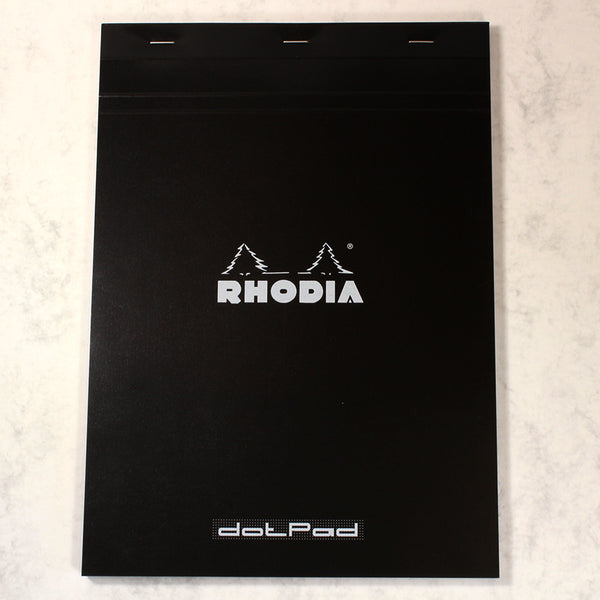 RHODIA BLACK DOT PAD 80 PAGES A4