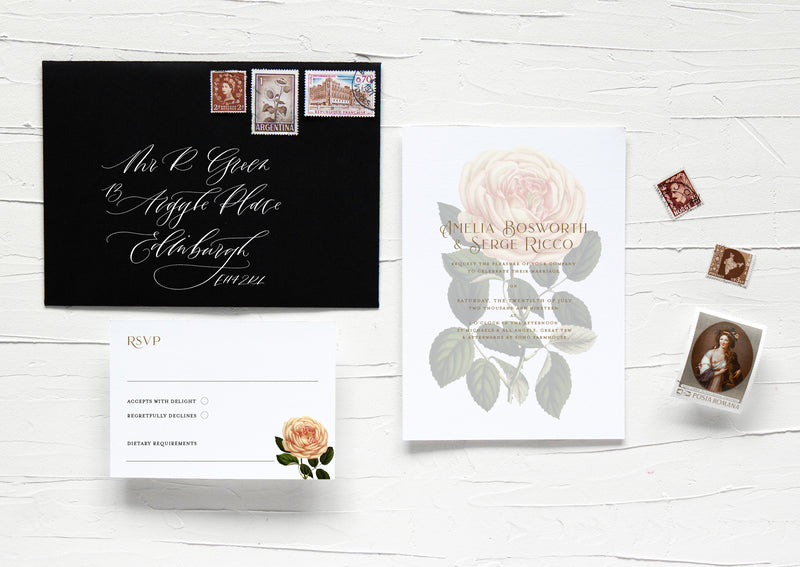 ROSAMUND COLLECTION - INVITATION