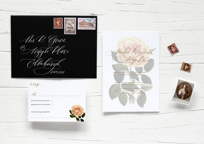 ROSAMUND SCRIPT COLLECTION - SAVE THE DATE