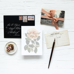 ROSAMUND SCRIPT COLLECTION - INVITATION