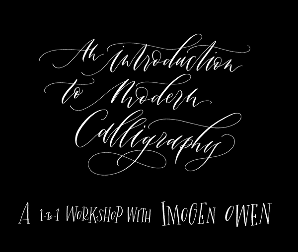 Beginners Modern Calligraphy Course - Bundle 1