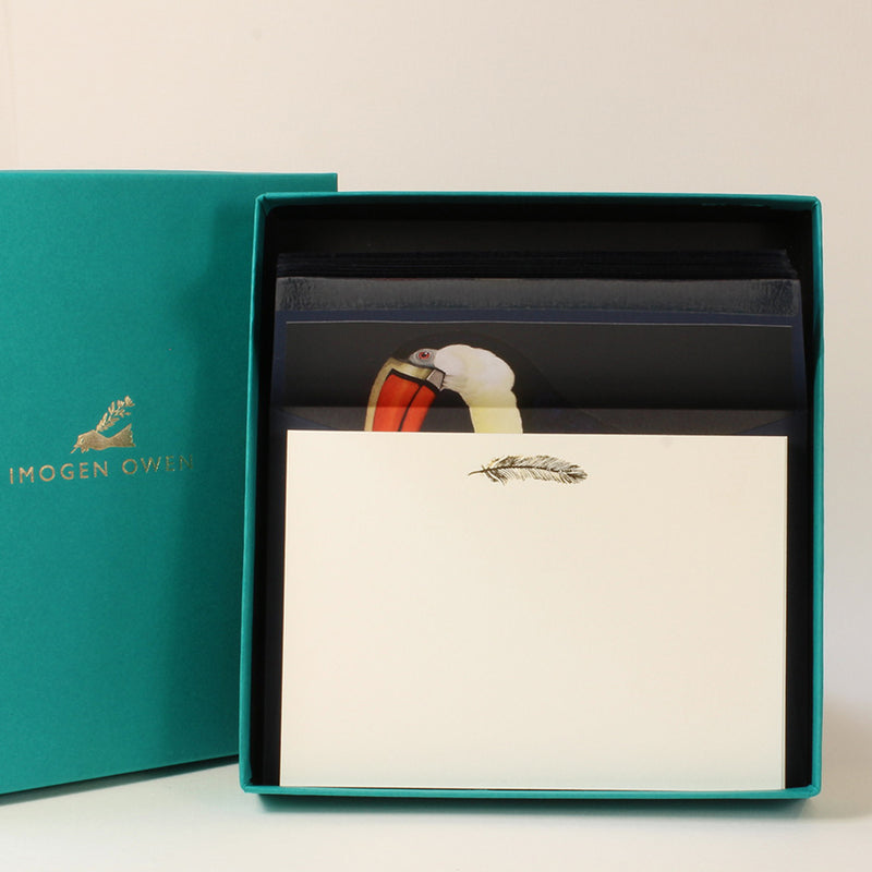 LUXURY CORRESPONDENCE SET - TOUCAN
