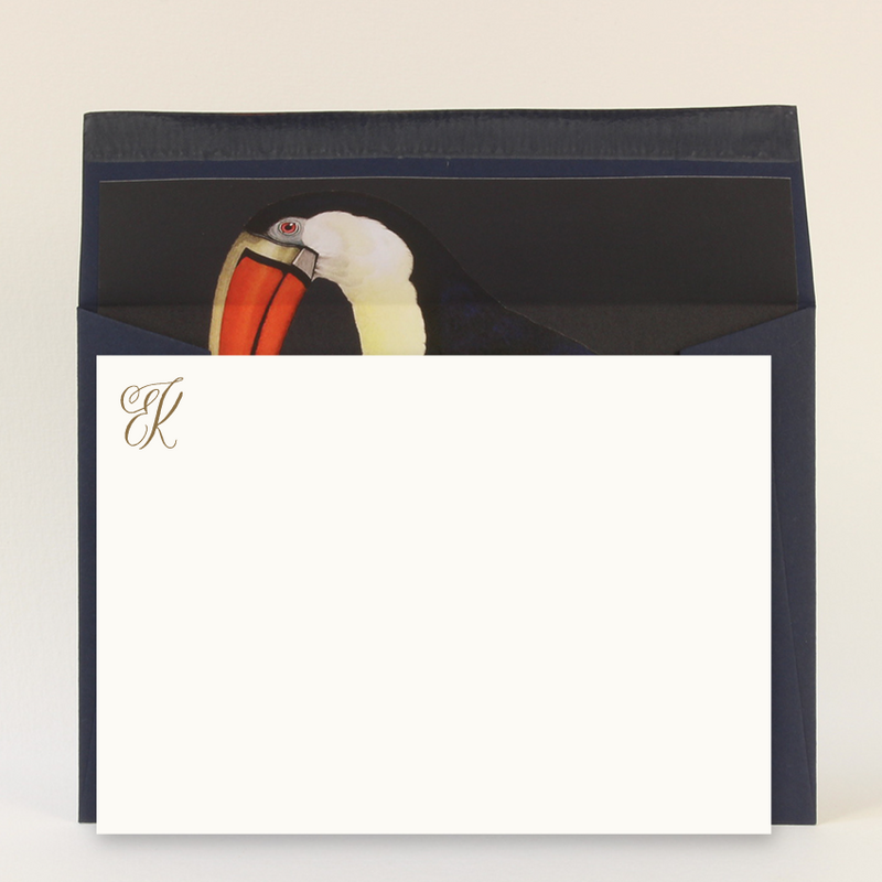 BESPOKE MONOGRAMMED LUXURY CORRESPONDENCE - SET OF 50