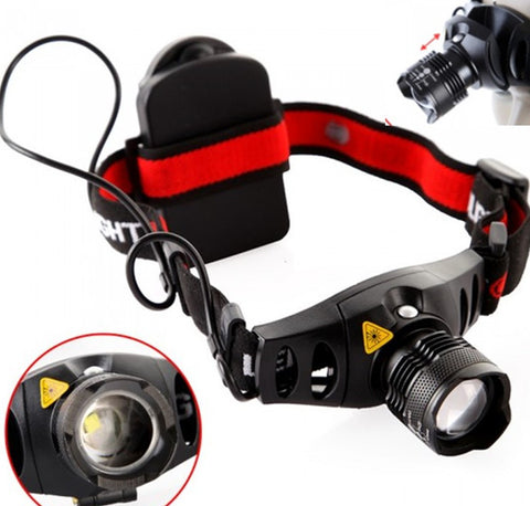 CREE Q5 1200 Lumen LED Headlamp - Weekend Crusaders
