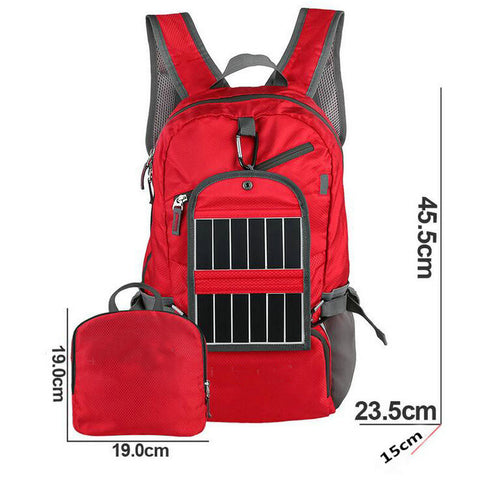 Solar Backpack Foldable Light Weight Solar Panel - Weekend Crusaders