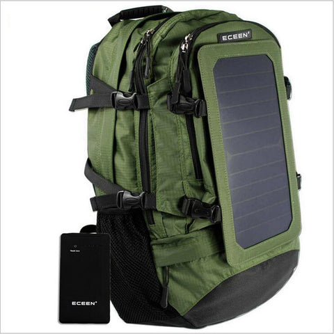 35L mountaineering Solar Backpack - Weekend Crusaders