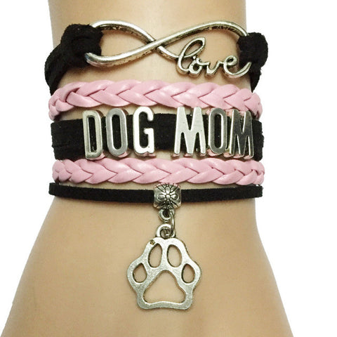 Niedliches Dog Mom Armband