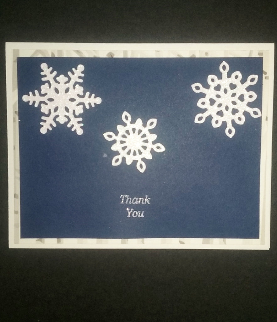 GUEST BLOG DESIGN TEAM MEMBER: Wintry Thank You Card