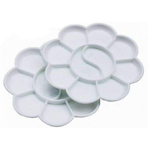 10 Compartment Plastic Paint Tray Small