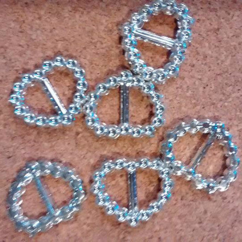 Plastic Buckle 3 Shapes Available