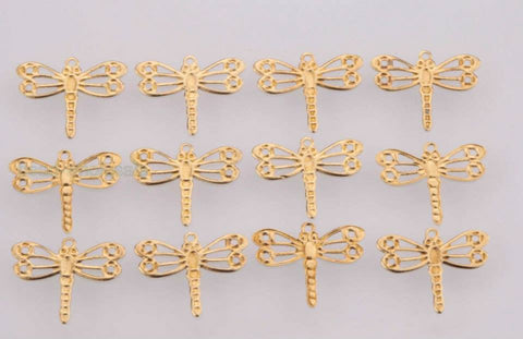 Gold Mini Dragonfly