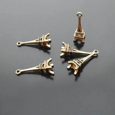 Bronze/Gold/Silver Eiffel Tower Embellishment