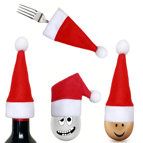 SALE: 4 Piece Santa Hat