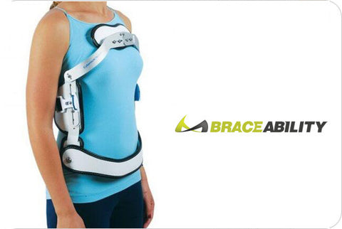 Hyper-X TLSO Jewett Hyperextension Back Brace Orthosis