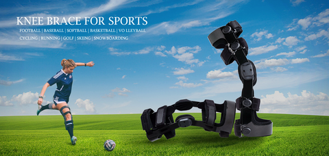 knee brace for football player
