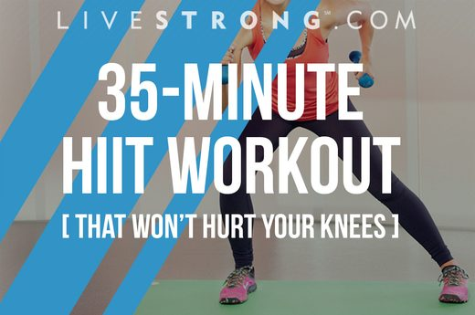 35-Minute HIIT Workout That Won't Hurt Your Knees