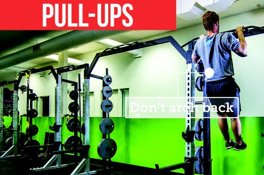 Pull-Up or Inverted Row