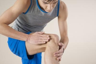 Athletes are especially susceptile to knee injuries caused by impact or excessive strain.