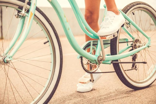 Bicycle riding can relieve the pain and inflammation of osteoarthritis.