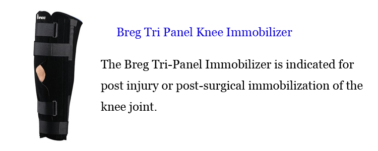 Breg Tri Panel Knee Immobilizer