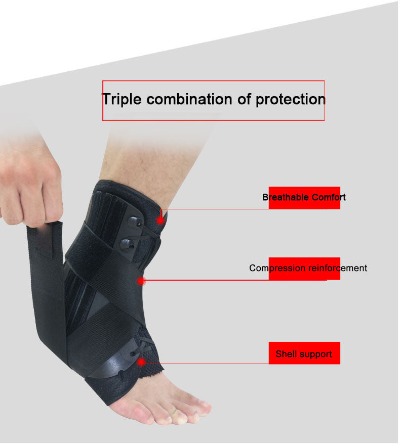 lace up ankle brace info