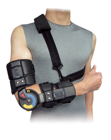 Orthomen ROM Elbow Brace with Sling