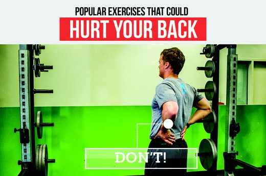 Popular Exercises That Can Hurt Your Back
