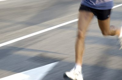 Runners' knees take a lot of impact.