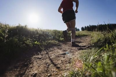 Running uphill, especially on uneven terrain, can set you up for hip pain.